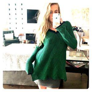 BCBG long sleeve knit sweater